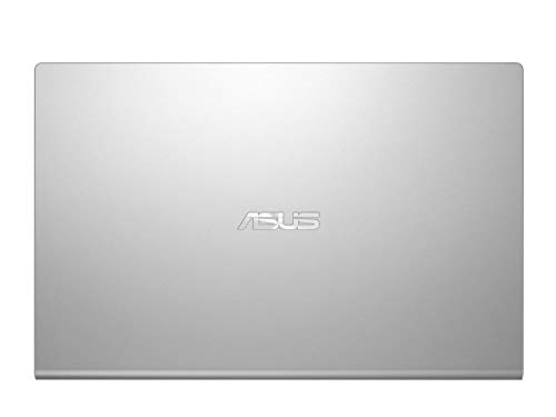 ASUS VivoBook 15 M509DA-EJ561T AMD Quad Core Ryzen 5-3500U 15.6-inch FHD Compact and Light Laptop (4GB RAM/256GB NVMe SSD/Windows 10/Integrated Graphics/FP Reader/1.9 kg), Transparent Silver