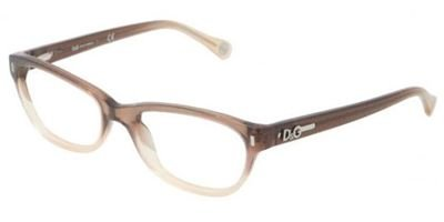 D&G DD1205 Vintage Eyeglasses-1675 Brown - Dolce And Gabbana Vintage