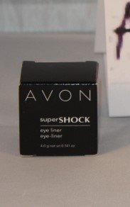 (Super Super Shock Eye Liner- Blackened Metal by Avon)