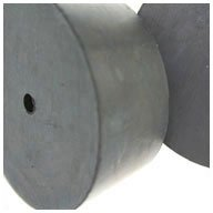 10 drilled rubber stopper - 4