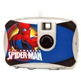 Sakar Web Cameras (Marvel Spiderman Digital Camera w/ 3 Faceplates (94044))