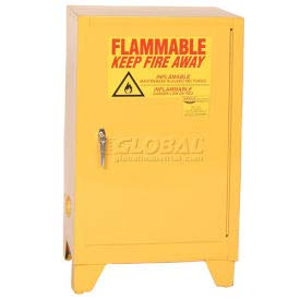 Eagle Flammable Liquid Tower Safety Cabinet with Manual Close - 12 Gallon (1925LEGS) ()