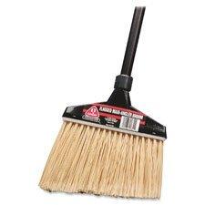O-Cedar Commercial 91351CT Maxi-Angler Broom Polystyrene Bristles 51'' Handle Black 4/Carton