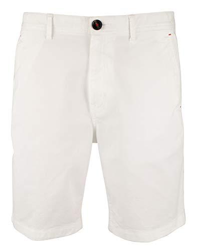Michael Kors Men's Garment Dyed Stretch Cotton Blend Shorts-W-32 White (Michael Kors Mens Belt)