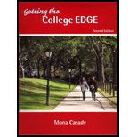 Getting the College Edge, Casady, Mona J., 0975266101