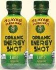 Guayaki Lime Tangerine Energy Shot 48x 2 Oz