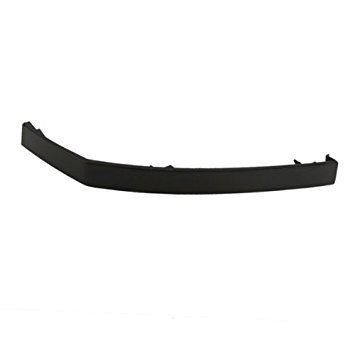 CarPartsDepot, Front Bumper Filler Right (Passenger Side) Retainer Panel ABS Plastic, 346-36107-12 NI1089106 -