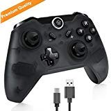 Maexus Switch Controller Wireless Switch Pro Controller Gamepad Support Gyro Motion Controls Dual Shock for Switch Zelda/Splatoon 2/Star Allies/Mario Odyssey etc. (The Last Level Of Super Mario Bros)