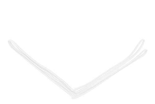 - Flairs New York Gentleman's Essentials Weekend Casual White Pocket Square (White / Cotton White [Premium])
