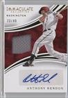 Anthony Rendon #23/49 (Baseball Card) 2016 Panini Immaculate Collection - Immaculate Auto Material #IAM-AR