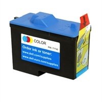 Dell 7Y745 Genuine Color Cartridge for Dell A940 and A960 Printers