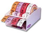 Dispenser Roll Lot Tags Dry Cleaning / 4-Roll - Dry Cleaning Tags