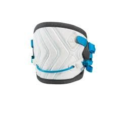 Liquid Force Supreme Kiteboard Lrg (34-36) Harness Wht/Gry /Blue (Force Harness Liquid)
