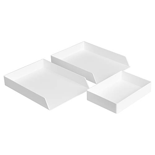 Top recommendation for desktop organizer tray with lid