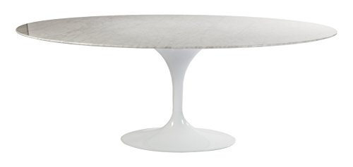 Stilnovo AMZRT335VWHITE The Marble Tulip Dining (Marble Pedestal Dining Table)