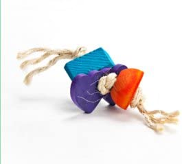 3 Pc Fling Rabbit Chew Toy