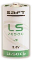 SAFT LS26500 C Size 3.6V Lithium Thionyl Chloride Battery