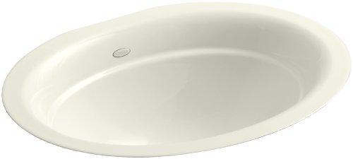 KOHLER K-2824-96 Serif Undercounter Bathroom Sink Sink, Biscuit Undermount Sink Biscuit
