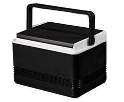 Black Igloo Legend 12 Golf Cart Cooler 9 Quart Capacity ()