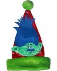 DreamWorks Trolls Branch Santa Hat