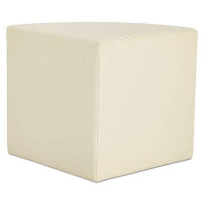 Alera ALEWE33AL WE Series Collaboration Seating, Quarter Bench, 25 3/4 x 18 x 18, Almond