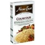 Near East Roasted Garlic and Olive Oil Pearled Couscous Mix, 4.7 Ounce - 12 per case.