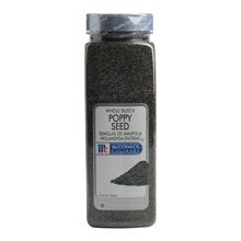 McCormick Poppy Seed - 20 oz. container, 6 per case by McCormick