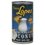 Coco Lopez Cream Of Coconut, 15 Ounce -- 24 per case.