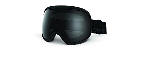 Von Zipper GMSNCFIS Matte Black Fishbowl Visor Goggles Lens Category 4 Lens - Zipper Von Fishbowl