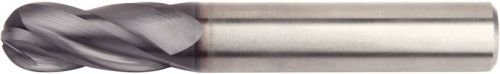 WIDIA Hanita I4B0219T062R VariMill I4B GP Rough/Finish End Mill, Ball Nose, 0.625