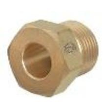 (Western Enterprises 92 Regulator Inlet Nuts, Argon, Helium, Nitrogen, Brass, CGA-580)