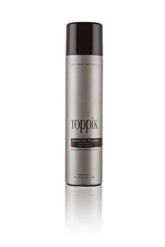 (TOPPIK Colored Hair Thickener, Dark Brown, 5.1 oz.)