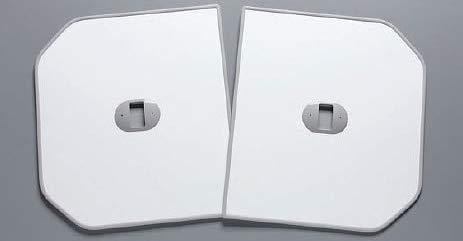 TOTO ふろふた 【PCF1320R】 軽量把手付き組み合わせ式 (2枚) B00Q7TY5YU