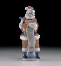 Lladro 6657 Santa's List
