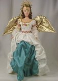 Barbie Collectibles - 1998 - Mattel - Barbie Collectibles - Angel of Joy Barbie - 1st in Series - Timeless Sentiments Collection - Collector Edition - Out of Production