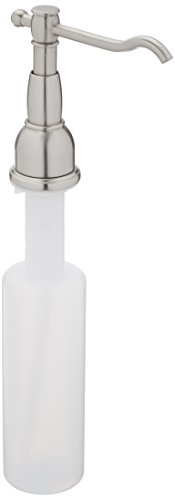 Dispenser Soap Square Stainless Steel (Danze D495957SS Opulence Deck Mount Soap and Lotion Dispenser, Stainless Steel)