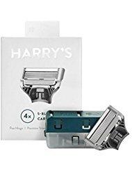 Harry's Razor Blades for Men – 4 Pack of Razor Blade Refills