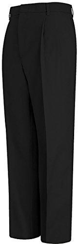 td Twill Pant-Blk-35X35 (Twill Double Pleat Pants)