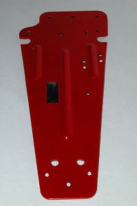 PDL PLATE W RUBBER 500__D4 PEDAL PRIMARY (Plate Pedal Plate)