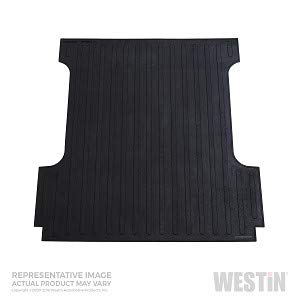 Westin Bed Mat 50-6415 With Raised Edges - No, Includes Tailgate Mat - No, Color - Black, Material - Rubber, Surface Design - Ribbed, Thickness (IN) - 3/8 Inch, Installation Type - Drop-In