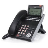NEC DTL-12D-1 (BK) - DT330 - 12 Button Display Digital Phone Black Stock# - Speaker Phone Nec