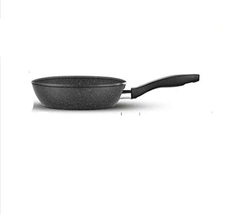 New 20-24cm Non-stick Frying Pan Medical Stone Coating Chef's Pans No fumes with/without Cover Use For Gas & Incuction Cooker,20cm,pan