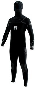Wetsuit Neoprene Vapor (Body Glove 7107 Mens Vapor Coldwater Full Wetsuit (Black, 2XL))