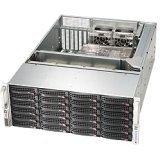 Supermicro 4U Rackmount Server Chassis - Black CSE-846BE16-R1K28B