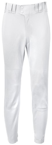 Mizuno Youth Premier Players Baseball Pant, White, Youth X-Large