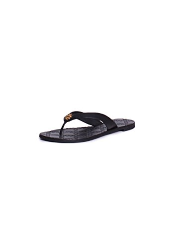 Tory Burch Monroe Thong Sandals in Black 7.5