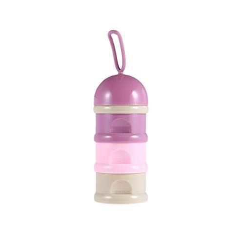 - Portable Detachable Milk Powder Box Safety Baby Milk Powder Container Snack Box