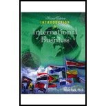 Introduction to International Business, Park and Park, Hoon, 0757584306