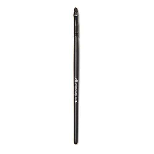 e.l.f. Cosmetics Small Smudge Brush, Synthetic Brush for Precision Eyeshadow and Eyeliner Application