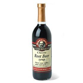 Da Vinci Root Beer Syrup, 750 ml Bottle